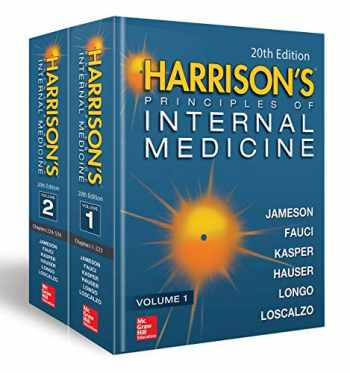 9781259644030-1259644030-Harrison's Principles of Internal Medicine 20E (Vol.1 & Vol.2)