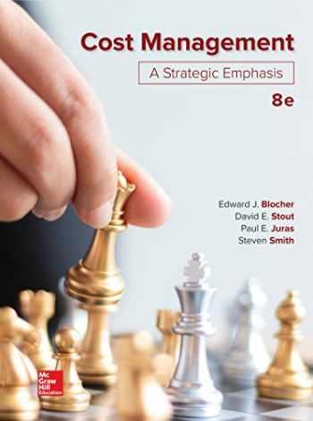 9781260165180-1260165183-Loose Leaf for Cost Management: A Strategic Emphasis