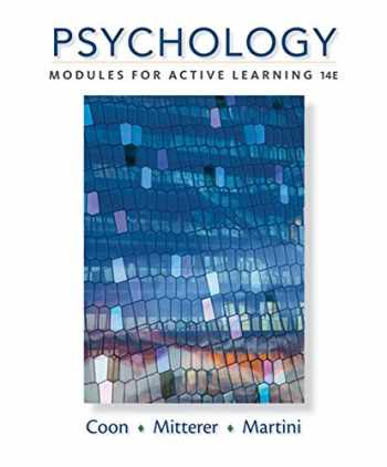 9781305964112-130596411X-Psychology: Modules for Active Learning