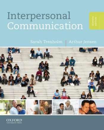 9780199827503-0199827508-Interpersonal Communication