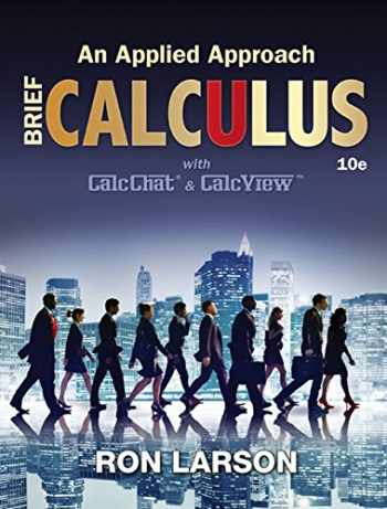 9781305860926-1305860926-Calculus: An Applied Approach, Brief