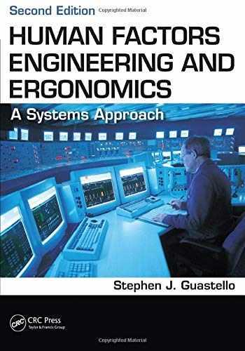 9781466560093-1466560096-Human Factors Engineering and Ergonomics