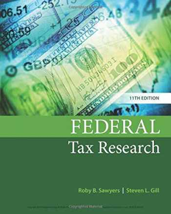 9781337282987-1337282987-Federal Tax Research