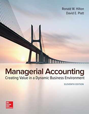 GEN COMBO MANAGERIAL ACCOUNTING; CONNECT ACCESS CARD