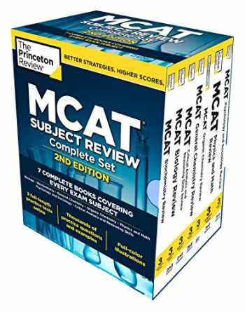 9780451487155-045148715X-Princeton Review MCAT Subject Review Complete Boxed Set, 2nd Edition: 7 Complete Books + Access to 3 Full-Length Practice Tests (Graduate School Test Preparation)