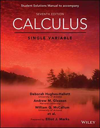9781119378990-1119378990-Calculus: Single Variable, 7e Student Solutions Manual