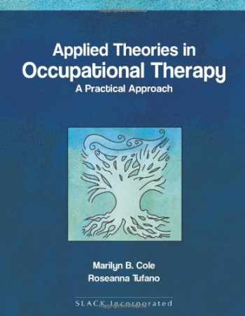 9781556425738-1556425732-Applied theories in Occupational Therapy