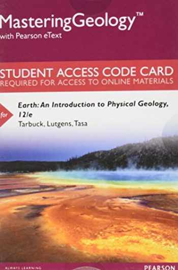 9780134288246-0134288246-Mastering Geology with Pearson Etext -- Standalone Access Card -- For Earth: An Introduction to Physical Geology