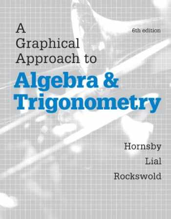 9780321900227-0321900227-Graphical Approach to Algebra and Trigonometry, A, Plus MyLab Math with eText-- Access Card Package (6th Edition) (Hornsby/Lial/Rockswold Graphical Approach Series)