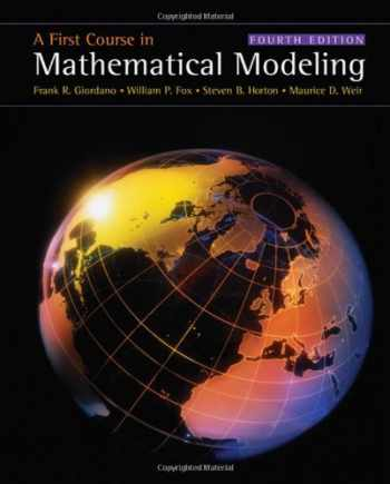 9780495011590-0495011592-A First Course in Mathematical Modeling