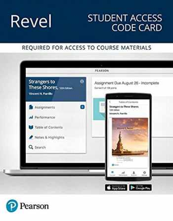 9780134737638-0134737636-Revel for Strangers to These Shores -- Access Card (12th Edition)