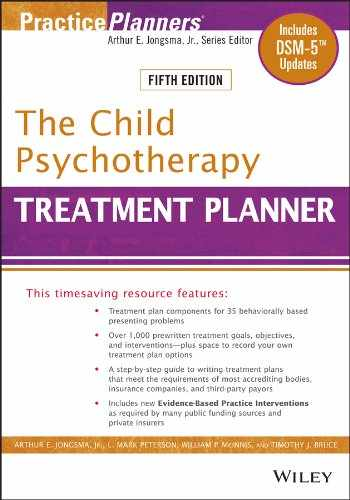 9781118067857-1118067851-The Child Psychotherapy Treatment Planner: Includes DSM-5 Updates