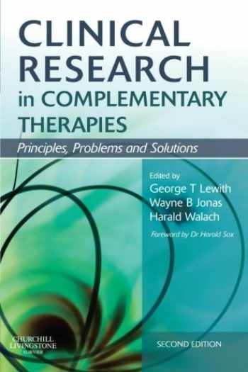 9780443069567-0443069565-Clinical Research in Complementary Therapies: Principles, Problems and Solutions, 2e