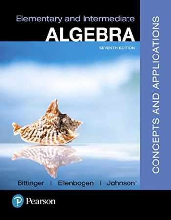 MyMathLab with Pearson eText -- Standalone Access Card -- for Elementary and Intermediate Algebra: Concepts and  Applications (7th Edition)