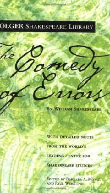 9780743484886-0743484886-The Comedy of Errors (Folger Shakespeare Library)
