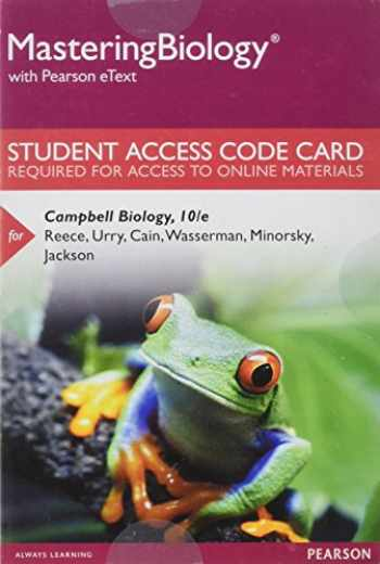9780321833143-0321833147-MasteringBiology with Pearson eText -- Standalone Access Card -- for Campbell Biology (10th Edition)