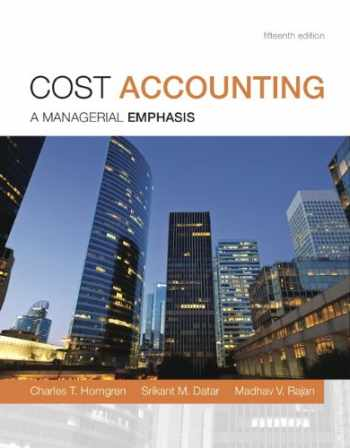 9780133803815-0133803813-Cost Accounting Plus NEW MyAccountingLab with Pearson eText -- Access Card Package (15th Edition)