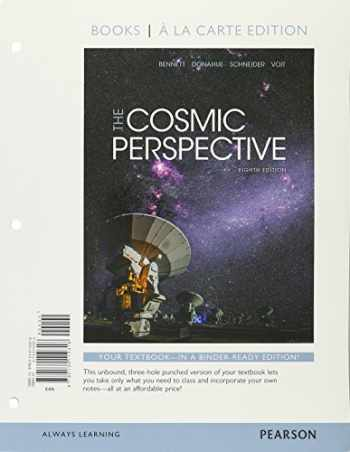 9780134110318-0134110315-Cosmic Perspective, The, Books a la Carte Edition (8th Edition)