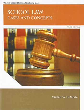 9780137072477-0137072473-School Law: Cases and Concepts (10th Edition) (Allyn & Bacon Educational Leadership)