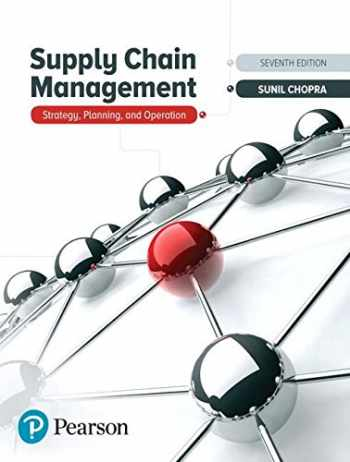 9780134731889-0134731883-Supply Chain Management: Strategy, Planning, and Operation
