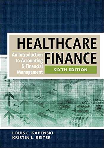 sell buy or rent healthcare finance an introduction to accounting rh booksrun com