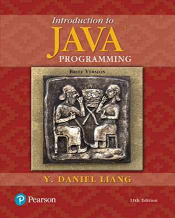 9780134611037-0134611039-INTRO TO JAVA PROG BRIEF 11