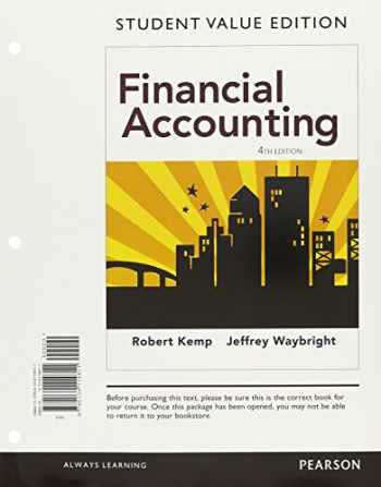 9780134417356-0134417356-Financial Accounting, Student Value Edition Plus MyAccountingLab with Pearson eText -- Access Card Package (4th Edition)