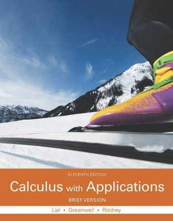 9780321979414-0321979419-Calculus with Applications, Brief Version (11th Edition)