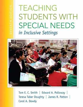 9780133773774-0133773779-Teaching Students with Special Needs in Inclusive Settings, Loose-Leaf Version (7th Edition)