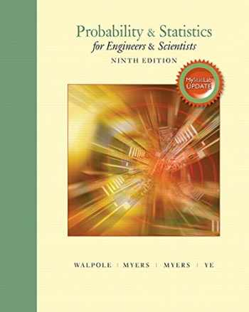 9780134115856-0134115856-Probability & Statistics for Engineers & Scientists, MyLab Statistics Update (9th Edition)