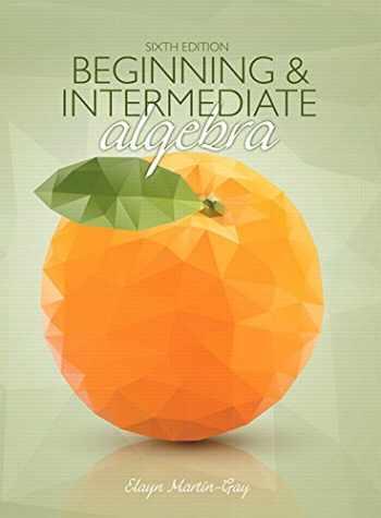 9780134193090-0134193091-Beginning & Intermediate Algebra