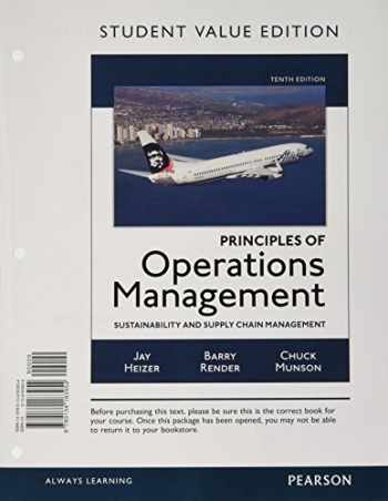 9780134183954-0134183959-Principles of Operations Management: Sustainability and Supply Chain Management, Student Value Edition (10th Edition)