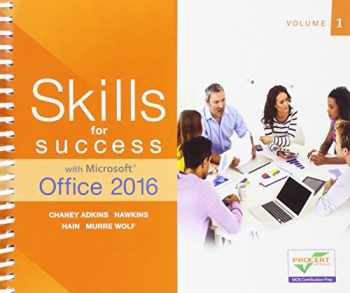 9780134320786-0134320786-Skills for Success with Microsoft Office 2016 Volume 1 (Skills for Success for Office 2016 Series)