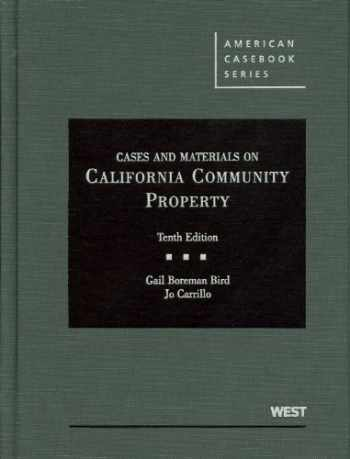 9780314266699-0314266690-Cases and Materials on California Community Property (American Casebook Series)