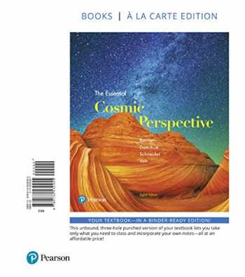 9780134532455-0134532457-Essential Cosmic Perspective, The, Books a la Carte Edition (8th Edition)