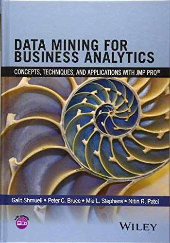 9781118877432-1118877438-Data Mining for Business Analytics: Concepts, Techniques, and Applications with JMP Pro