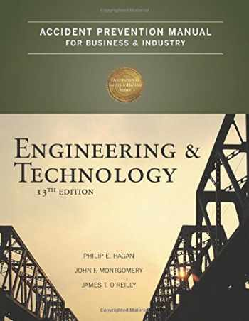 9780879122812-0879122811-Accident Prevention Manual for Business & Industry: Engineering & Technology, 13th Edition