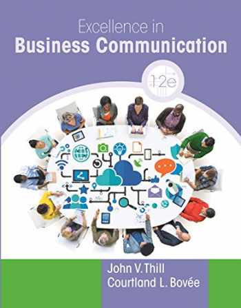 9780134472430-0134472438-Excellence in Business Communication Plus MyLab Business Communication with Pearson eText -- Access Card Package (12th Edition)