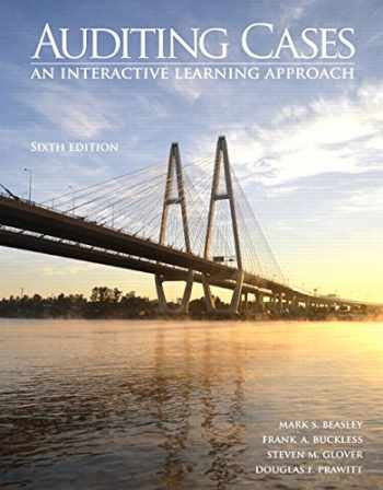 9780133852103-0133852105-Auditing Cases: An Interactive Learning Approach (6th Edition)