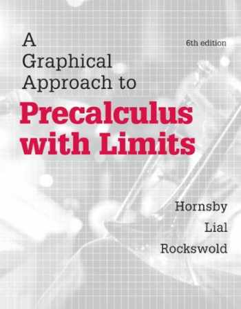 9780321900326-0321900324-Graphical Approach to Precalculus with Limits, A, Plus MyLab Math with eText-- Access Card Package (6th Edition) (Hornsby/Lial/Rockswold Graphical Approach Series)
