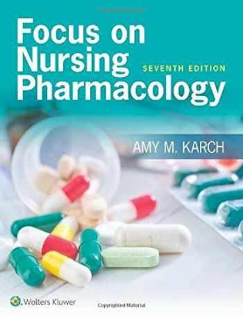 9781496318213-1496318218-Focus on Nursing Pharmacology