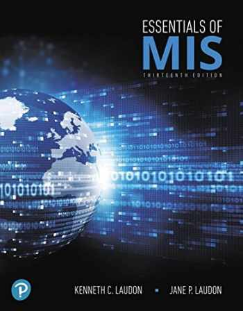 9780134802756-0134802756-Essentials of MIS (13th Edition)