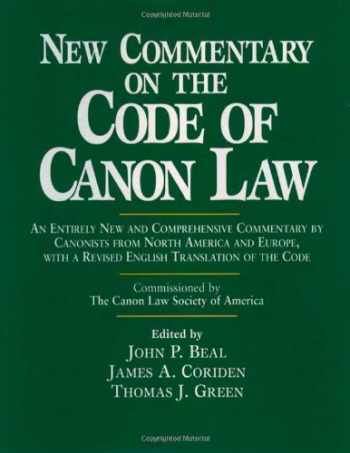 9780809105021-0809105020-New Commentary on the Code of Canon Law