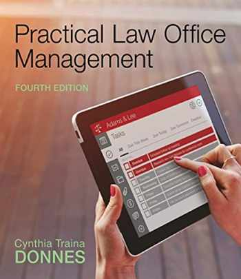 9781305577923-1305577922-Practical Law Office Management