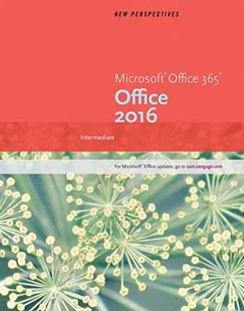 9781305879195-1305879198-New Perspectives Microsoft Office 365 & Office 2016: Intermediate