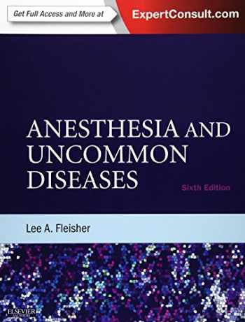 9781437727876-1437727875-Anesthesia and Uncommon Diseases: Expert Consult - Online and Print