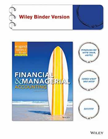 9781119036357-1119036356-Financial & Managerial Accounting 2e Binder Ready Version + WileyPLUS Registration Card