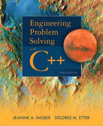 9780132492652-0132492652-Engineering Problem Solving with C++ (3rd Edition)