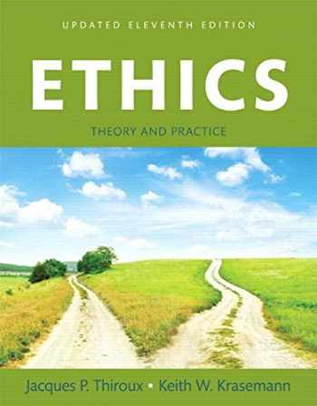 9780134010205-0134010205-Ethics: Theory and Practice, Updated Edition -- Books a la Carte (11th Edition)
