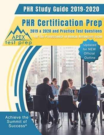 Sell, Buy or Rent PHR Study Guide 2019-2020: PHR